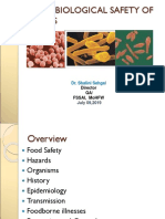 Microbiological Safety of Food