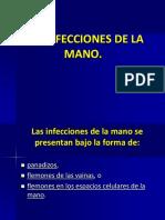 Las Infecciones de La Mano
