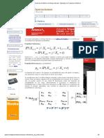 Cadenas de Markov en Tiempo Discreto - Ejemplos de Cadenas de Markov