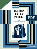 044 Alguien en La Puerta - Raymond Postgate