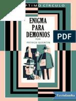 050 Enigma Para Demonios - Patrick Quentin