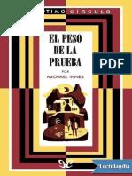 055 El Peso de La Prueba - Michael Innes