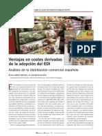Ventajas adopción de un sistema EDI