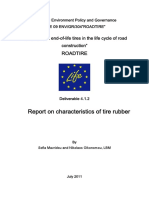 D4.1.2 Report on Characteristics of Tire Rubber