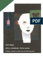 Arte y Multitudo Negri1