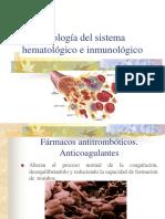U. VII Farmacología Del Sistema Hematológico e Inmunológico