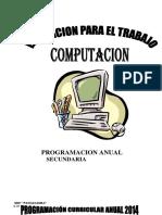 Programacion Anual Unidad 1ro Secundaria