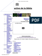 Números - Estudio Inductivo de La Biblia