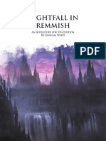 Nightfall in Remmish