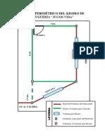 Plano Perimétrico Del Kiosko de Juguería