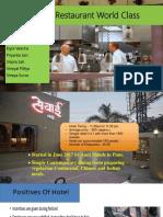 Operations Restaurant-Processes Inputs Outputs