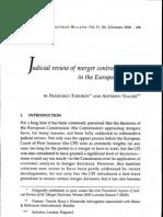 Judicial Review in Europe