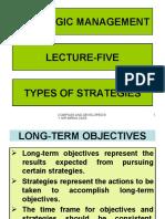 Stg Mgm Lec-05 Types of Strategies