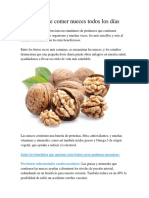 Beneficios de Comer Nueces Todos Los Días