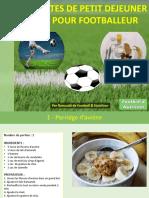 5 Recettes de Petit Déjeuner Footballeur v1.0