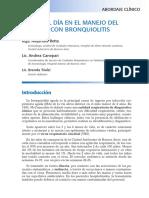 PROAKI Manejo de Bronquiolitis