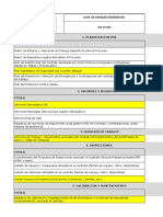 Lista de chequeo de Dossier