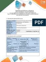 Guía de actividades y rúbrica de evaluación - Fase 2 - Identificar un problema en mi entorno para proponer una solución innovadora.pdf