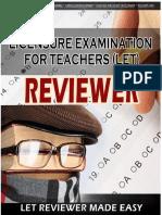 Let Reviewer Handouts