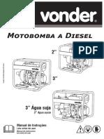 Motor a Bomba Diesel - Vonder