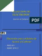 3. SELECCIÓN ELECTRODOS