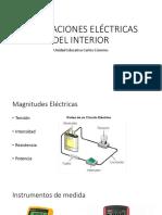Instalaciones Eléctricas Del Interior Diapos 1