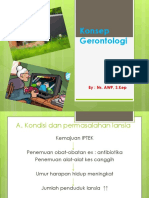 Konsep Gerontologi 2013