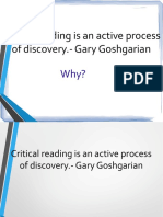 Ppt Critical Reading