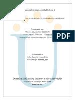 Antropología psicológica Fase 4