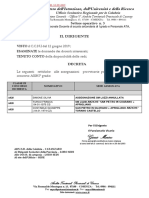 Rettifiche Assegnazione Provinciale a028