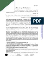 TATA Group HR Challenge Case-1