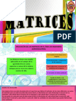 Matrices Producto