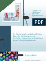 Evaluación y Práctica de Desarrollo Organizacional