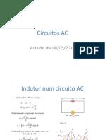 Apresentação sobre circuitos AC