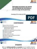 1. Sistema Portuario Nacional en Apoyo Al Comercio Exterior de Guatemala