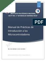 Manual de prácticas de microcontroladores
