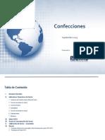 Estuudio de Mercado CONFECCIONES