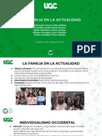 Familia y Bioética - La Familia en La Actualidad