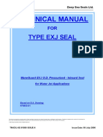 Technical Manual Type Exj Seal