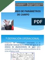 MONITOREO DE PARAMETROS DE CAMPO kliverth.ppt