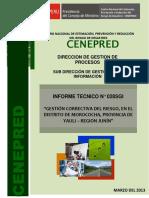 Caso Reubicacion Morococha - Informe tecnico 028-2013-CENEPRED-SGI.docx