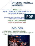 i Ecologia Ecosistemas Ciclos