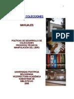 Manual de Gestion de Colecciones - Documentos de Biblioteca
