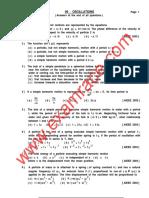 Physics Oscillations MCQ (1)