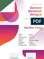 PPT presentasi kasus demam berdarah dengue