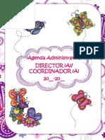 Agenda Directivo-coordinador