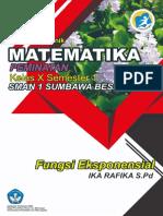 Matematika Peminatan_Fungsi Eksponensial_X