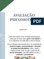 3 Avaliação Psicomotora e Distúrbios Psicomotores.ppt