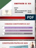 Constitucion de 1828