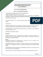 GFPI-F-019 Guia 20. Presupuestos y costos